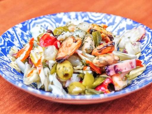 Delicioso Salpicón de Marisco | Mesón Puerta Valencia