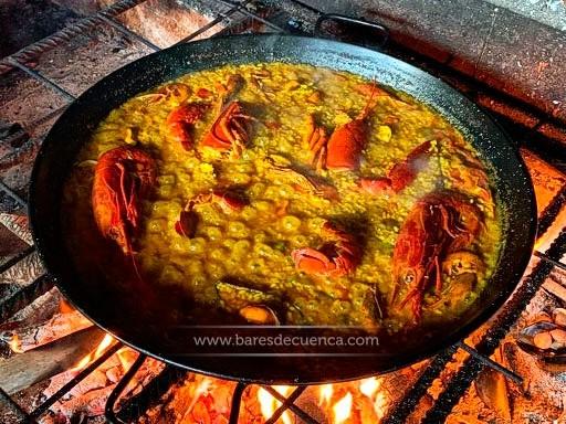 Arroz a la Lumbre | Restaurante La Casita de Cabrejas