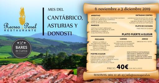 Mes del Cantábrico, Asturias y Donosti   Recreo Peral