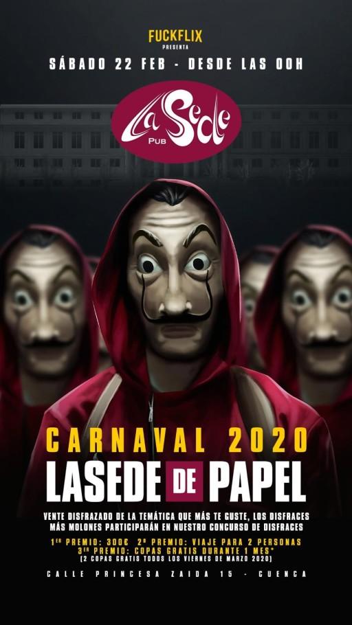 Carnaval 2020 La Sede de Papel