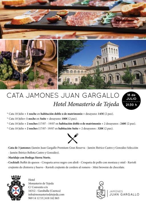 Cata de Jamones Juan Gargallo