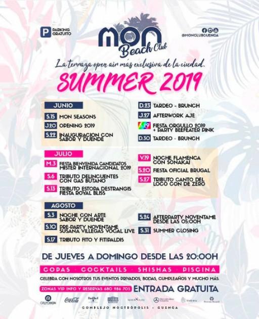 Summer 2019 Mon Beach Club