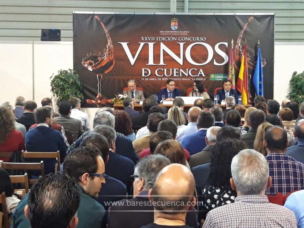 Muy agradecidos por la invitación a la entrega de Galardones del XXVII Concurso Vinos de Cuenca
