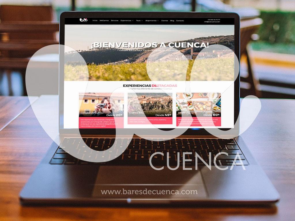 WeCuenca arranca con su nueva plataforma Web wecuenca.es y como colaborador de BaresdeCuenca