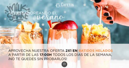 2x1 en Batidos helados | El Cafetín