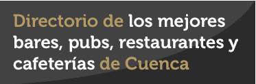 Directorio de bares y restaurantes de Cuenca